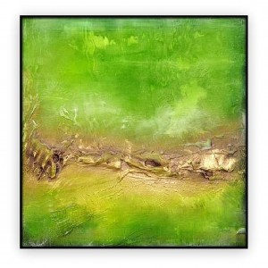 Abstract Art Oilpaintings - 008: 40x40""