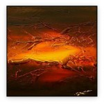 Abstract Art Oilpaintings - 009: 40x40""