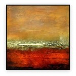 Abstract Art Oilpaintings - 011: 40x40""