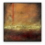 Abstract Art Oilpaintings - 012: 40x40""