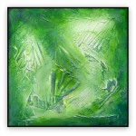 Abstract Art Oilpaintings - 013: 40x40""