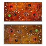 Abstract Art Oilpaintings - 017: Set of 2