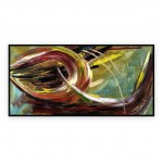 "Abstract Art Oilpaintings - 038: 24"" x 48"""