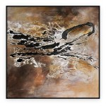 "Abstract Art Oilpaintings - 044: 40"" x 40 """