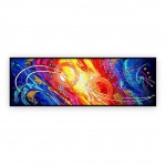 "Abstract Art Oilpaintings - 061: 20"" x 60 """