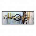 "Abstract Art Oilpaintings - 067: 28"" x 62"""