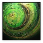 "Abstract Art Oilpaintings - 075: 40"" x 40 """