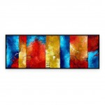 "Abstract Art Oilpaintings - 077: Set of 2 - 20"" x 60 "" each"