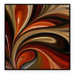 "Abstract Art Oilpaintings - 080: 40"" x 40 """