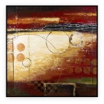 "Abstract Art Oilpaintings - 093: 40"" x 40 """