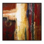 "Abstract Art Oilpaintings - 094: 40"" x 40 """