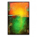 "Abstract Art Oilpaintings - 116: 25"" x 40 "" each"
