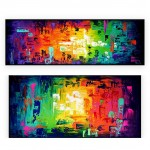 Abstract Art Oilpaintings - 128: Set of 2
