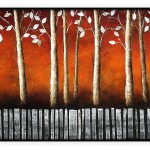 Contemporary Collection #124: 24 x 48 inches