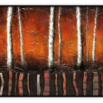 Contemporary Collection #125: 24 x 48 inches