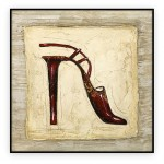 Fashion Art Oilpaintings 029: 30x30 inches