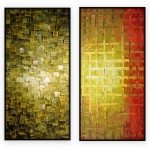 Abstract Art Oilpaintings - 107: Set of 2