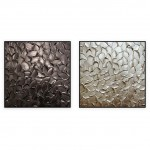 "Abstract Art Oilpaintings - 111: set of 2 - 30x30"" each"