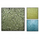 "Abstract Art Oilpaintings - 114: Set of 3, Total 60x40"", 20x20""-2 panels, 40x40"" 1panel"