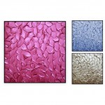 "Abstract Art Oilpaintings - 115: Set of 3, Total 90x30"", Each panel 30x30"""