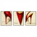 Fashion Art Oilpaintings 069: Set of 3