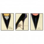 Fashion Art Oilpaintings 072: Set of 3