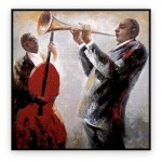 Music and Dance Oil Paintings