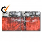 Corporate Art Oilpaintings 102: set of 2 - 30x30 inches each
