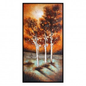 "Contemporary Art Oilpaintings, #008GRP: 24"" x 50"""