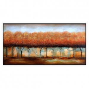 "Contemporary Art Oilpaintings, #015GRP: 24"" x 52"""