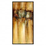 "Contemporary Art Oilpaintings, #088GRP: 24"" x 48"""