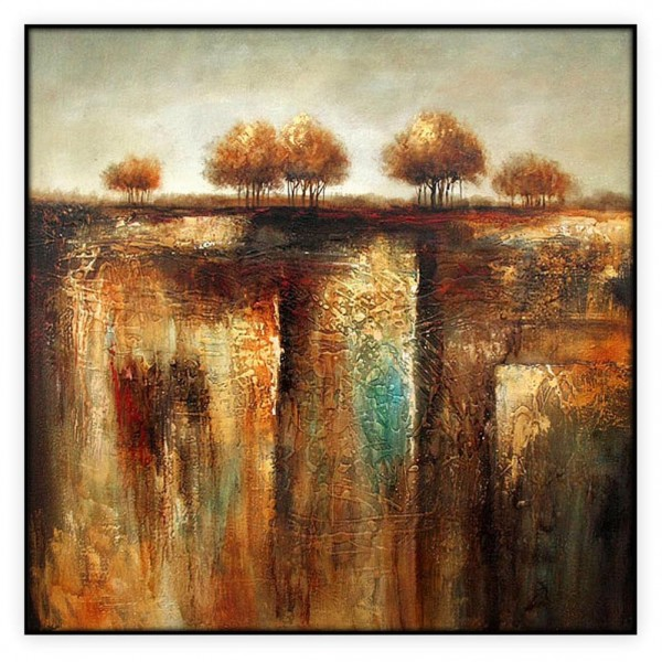 "Contemporary Art Oilpaintings, #209GRP: 40"" x 40 """