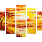 Premium Multipanel Art Oilpaintings GR3