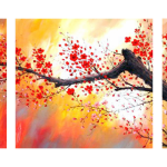 Multipanel Art Oilpaintings 13