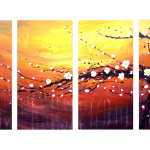 Multipanel Art Oilpaintings 15