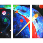 Multipanel Art Oilpaintings 48