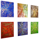 Premium Multipanel Art Oilpaintings GR112
