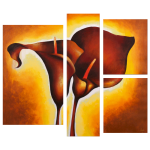 Multipanel Art Oilpaintings 122