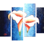 Multipanel Art Oilpaintings 130