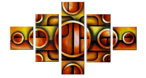 Multipanel Art Oilpaintings 139