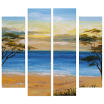 Multipanel Art Oilpaintings 162