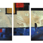Multipanel Art Oilpaintings 208