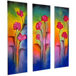 Multipanel Art Oilpaintings 211
