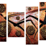 Multipanel Art Oilpaintings 227