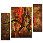 Multipanel Art Oilpaintings 234