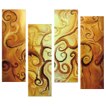 Multipanel Art Oilpaintings 242
