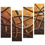 Multipanel Art Oilpaintings 244