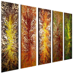 Multipanel Art Oilpaintings 245