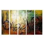 Premium Multipanel Art Oilpaintings GR303