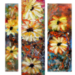 Multipanel Art Oilpaintings 412